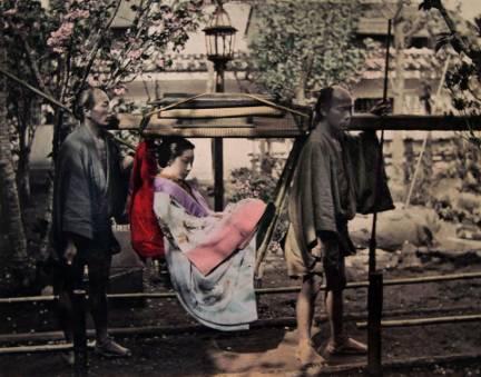 江戸時代の四つ手駕籠